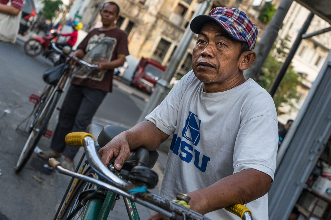 Jakarta Bike Taxi Rider