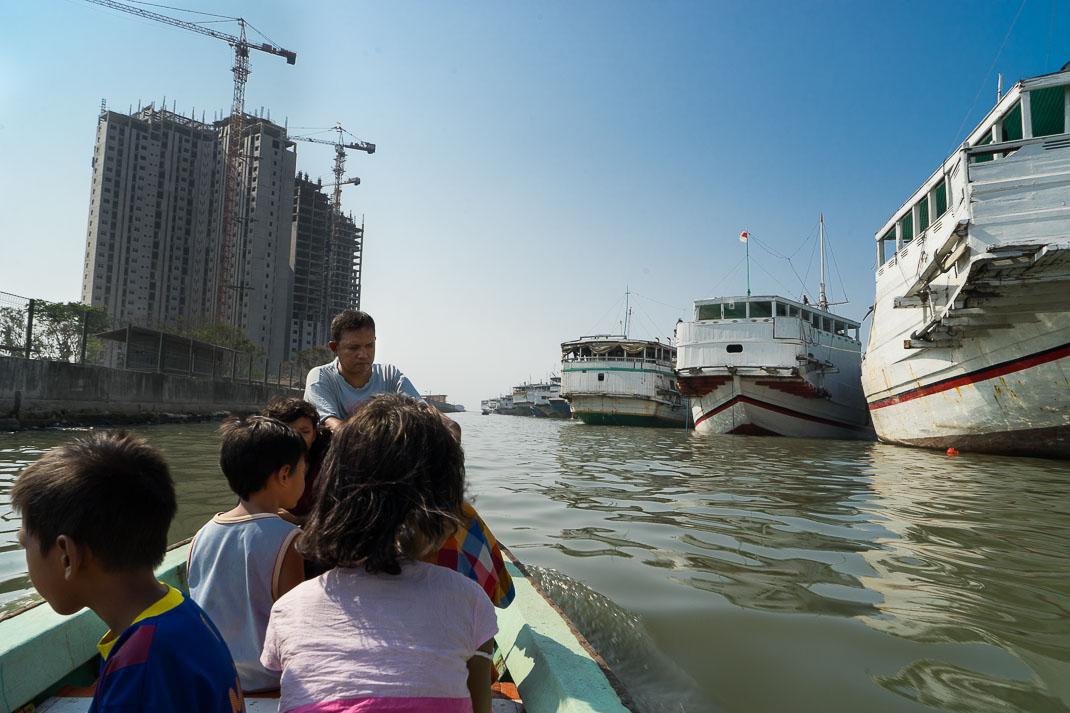 Hidden Jakarta Boating Old Harbor