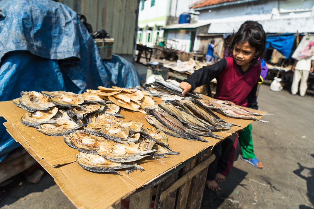 Hidden Jakarta Dried Fish