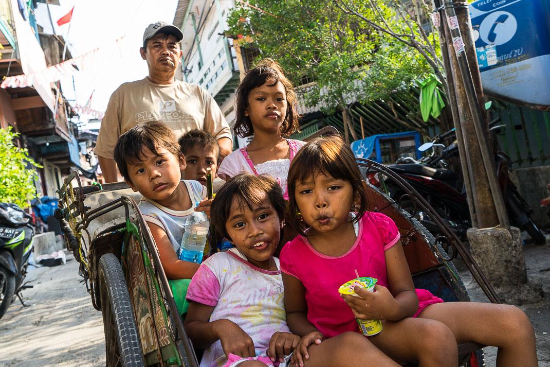 Hidden Jakarta Kids Bike Taxi