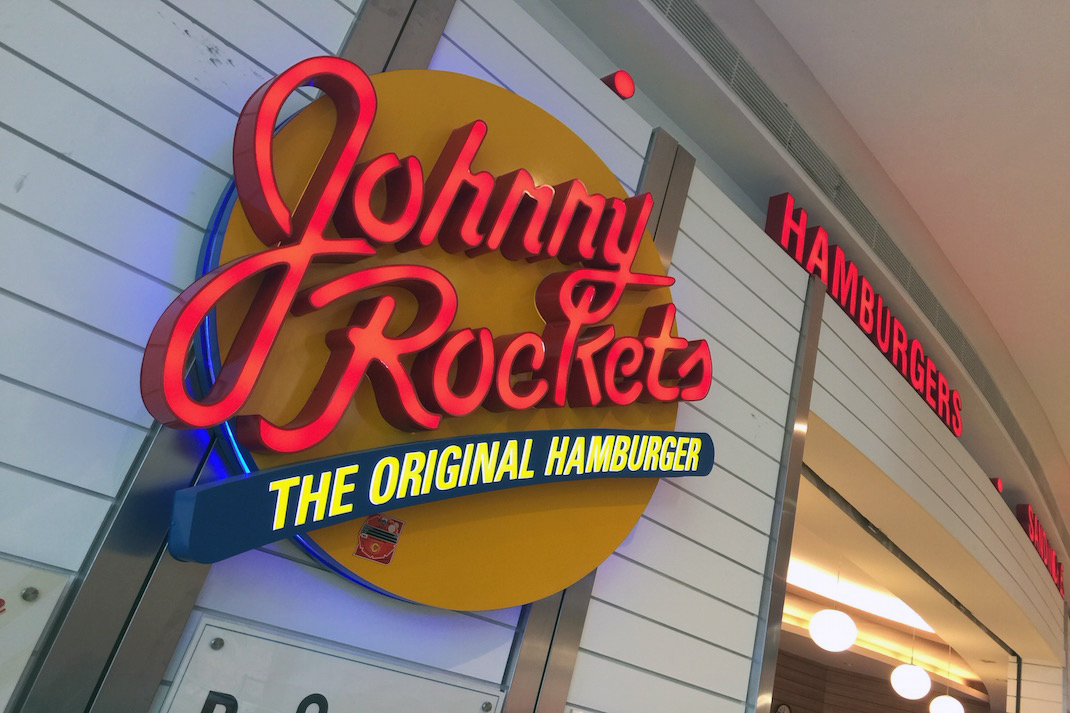 Hidden Jakarta Johnny Rockets Sign