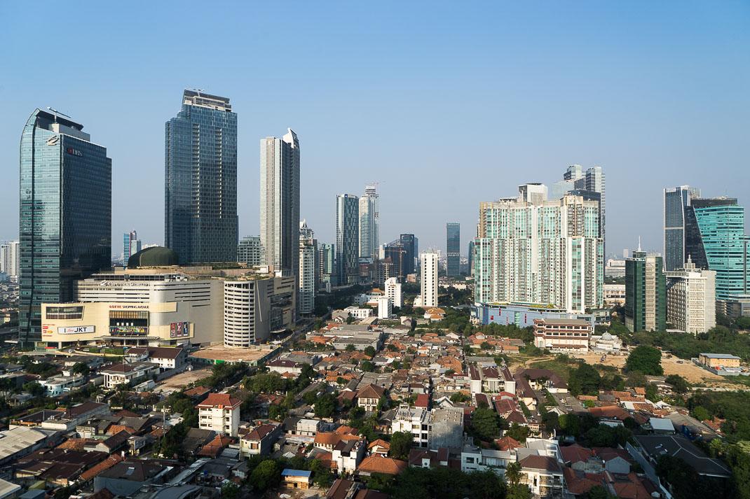 Hidden Jakarta City Skyline