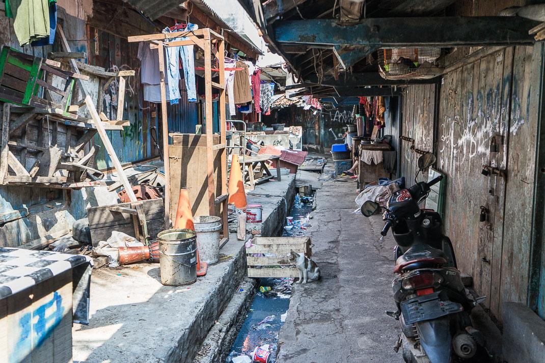 Hidden Jakarta Kampung Sewage