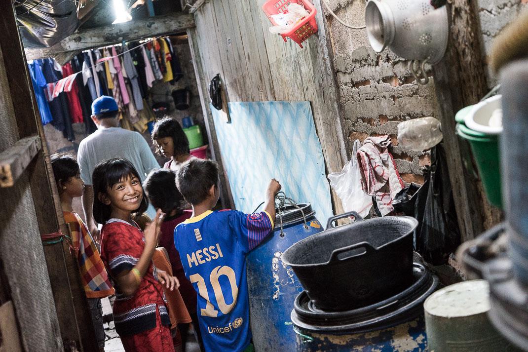 Hidden Jakarta Kampung Walking Kids