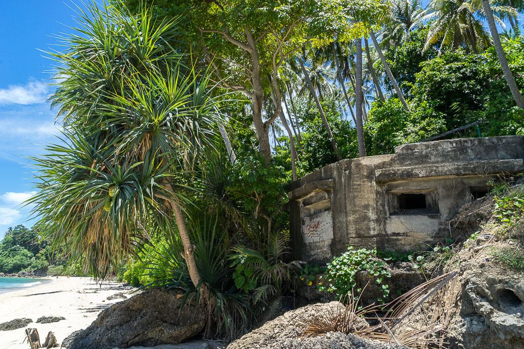 Sabang Beach Old Bunker