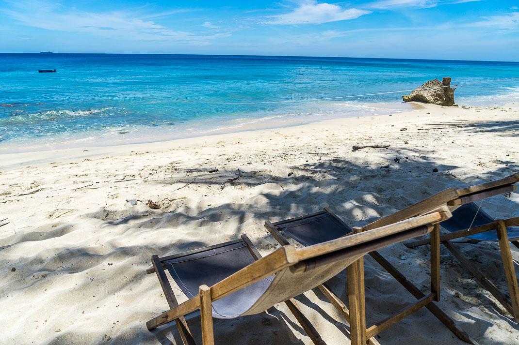 Sabang Freddies Beachfront Chairs