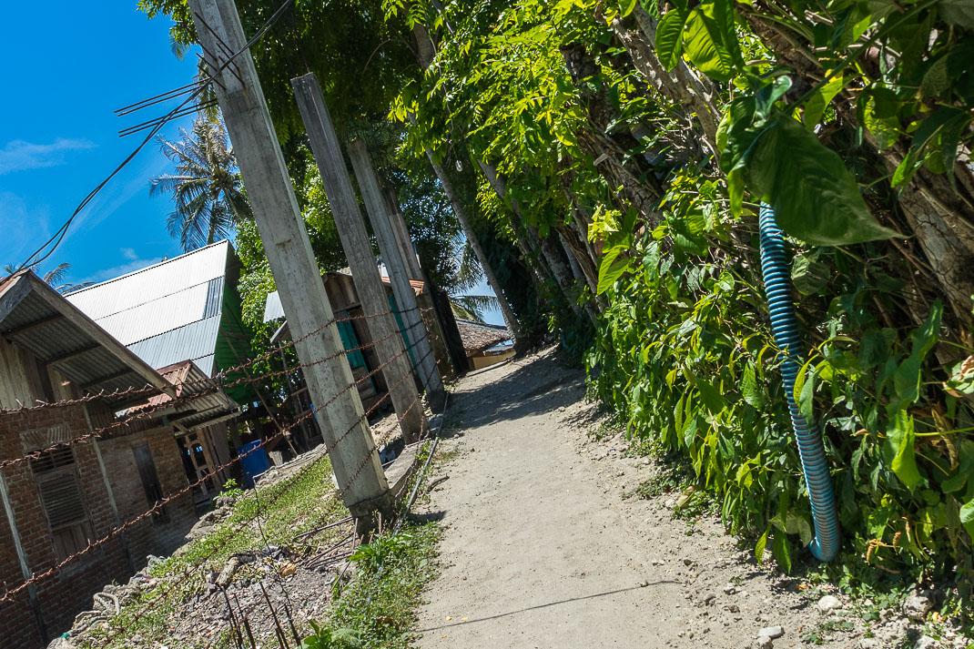 Sabang Freddies Entrance Path
