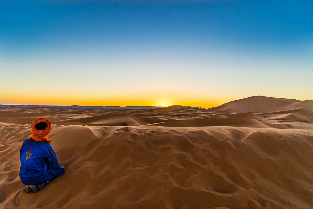 Sahara Sunset Dunes Berber