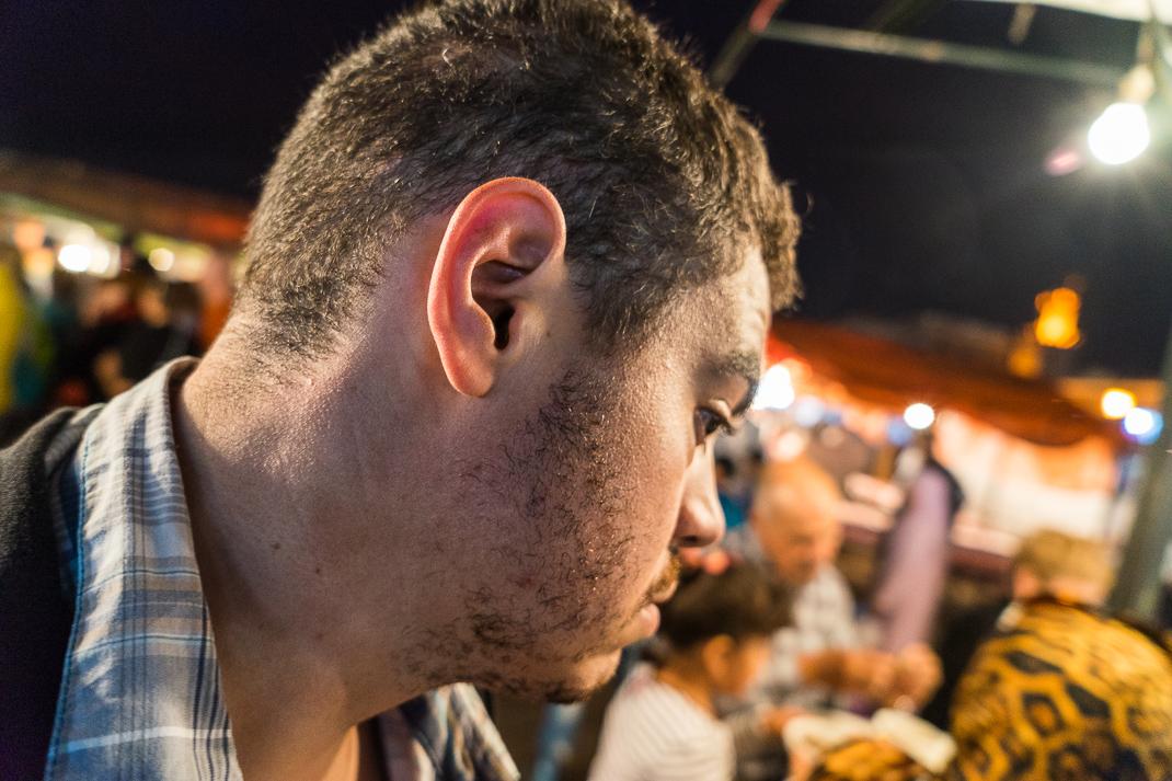Marrakech Food Julian Selfie