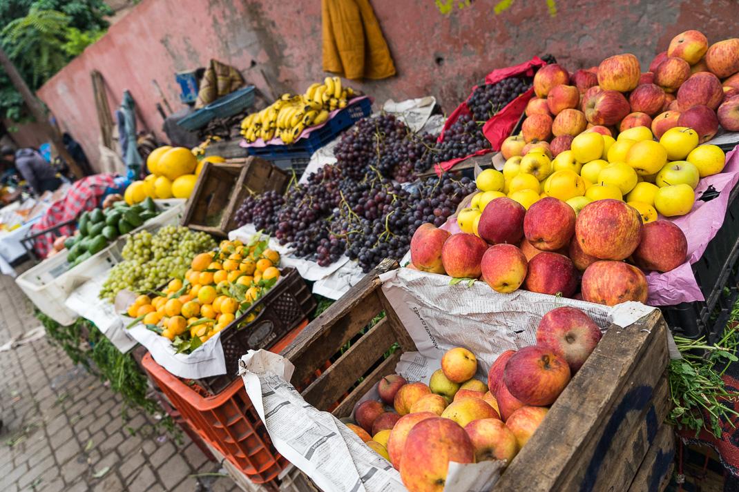 Marrakech Markets Fruit Baskets