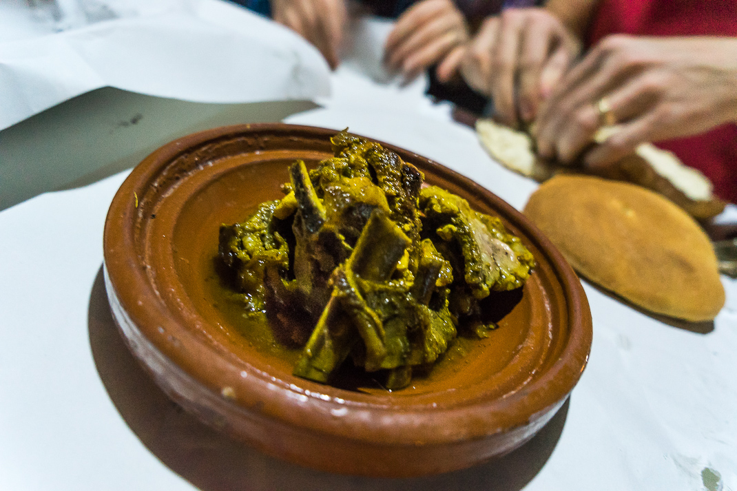 Marrakech Food Tanjia Plate