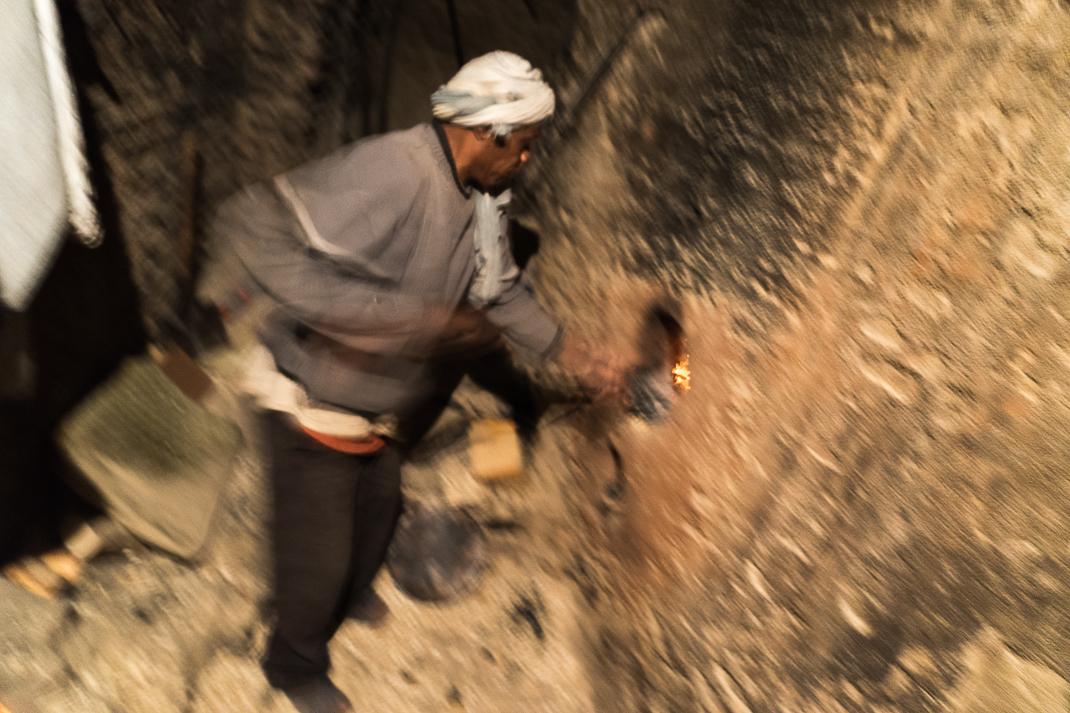 Marrakech Food Furnace Worker
