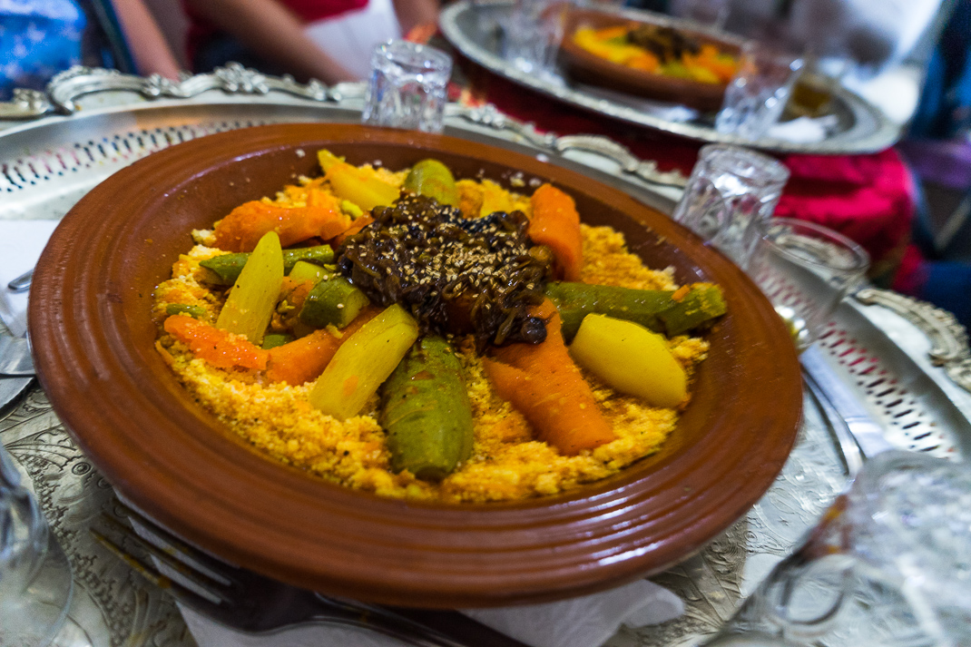 Marrakech Food Vegetable Couscous