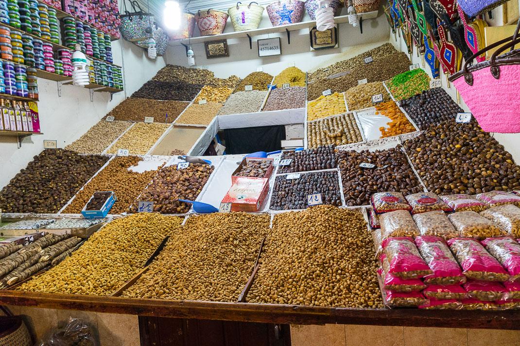 Marrakech Markes Snack Shop