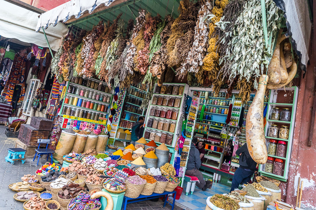 Marrakech Markets Spice Exterior