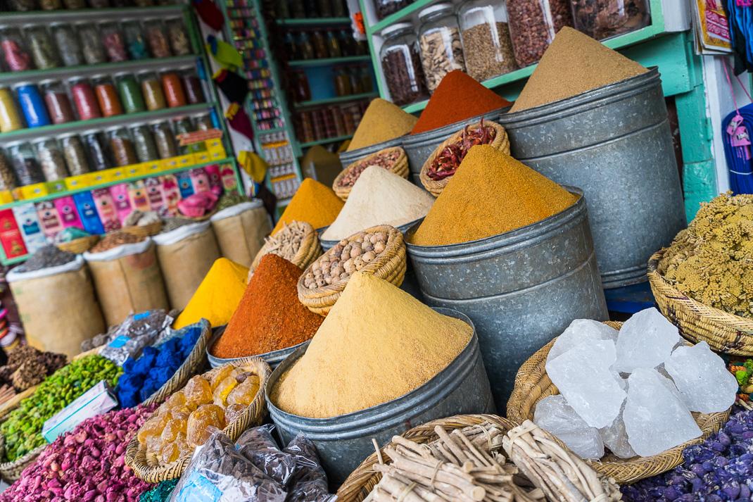Marrakech Markets Spice Shop