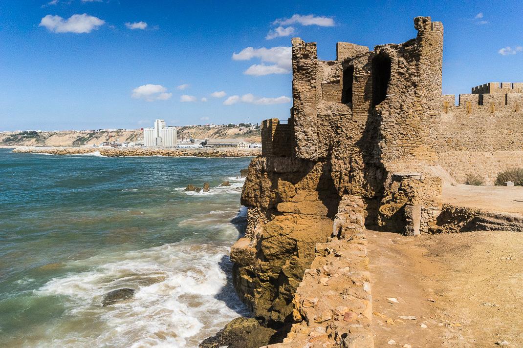Safi Crumbling Castle Wall