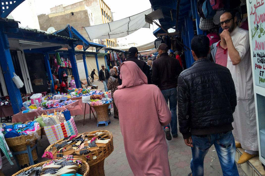 Safi Day Market Walkway