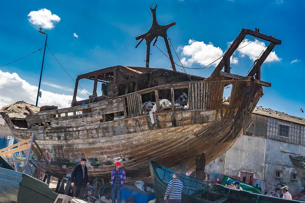 Safi Fishing Boat Construction