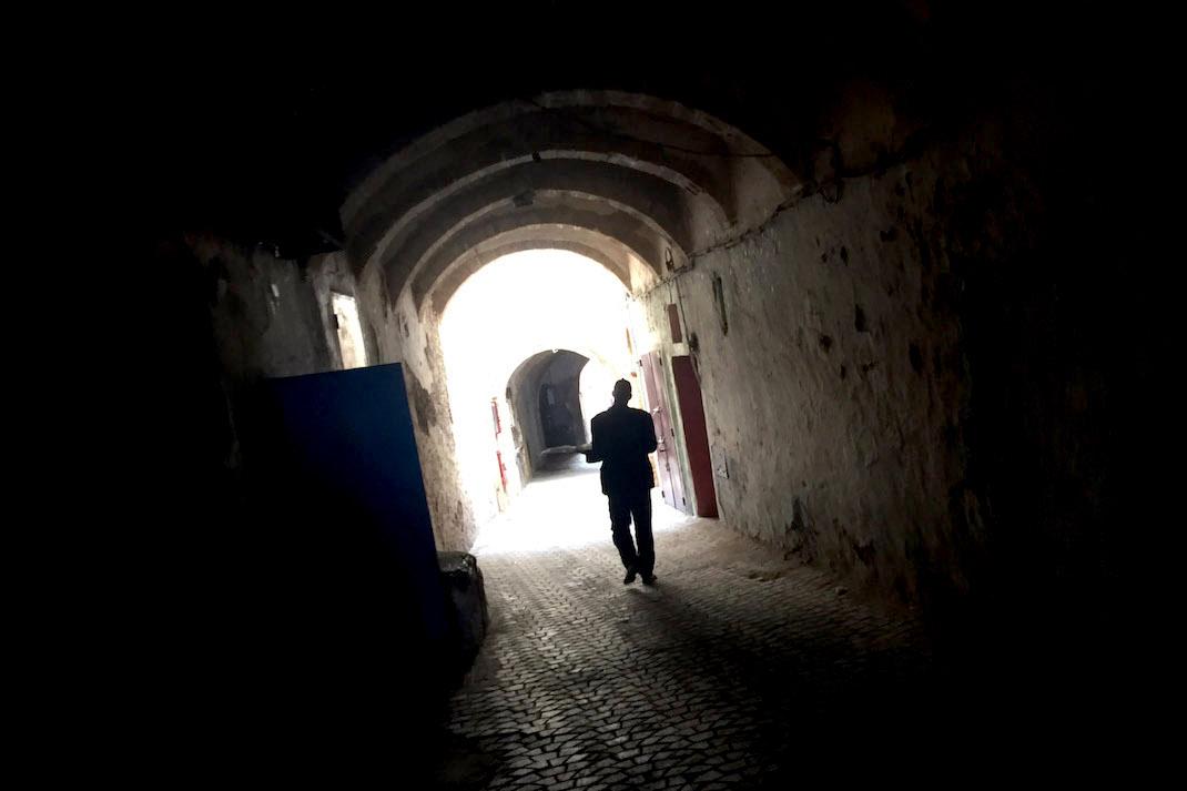 Safi Medina Dark Tunnel