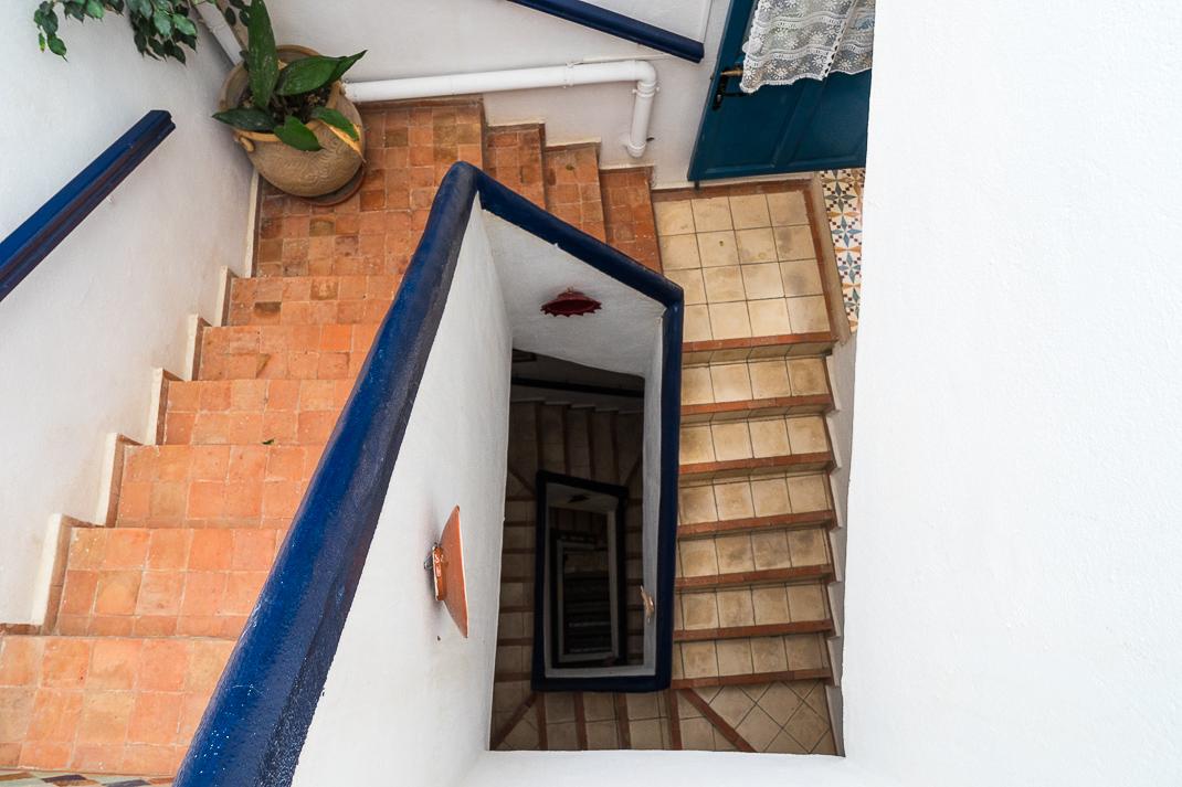 Safi Riad Blanc Stairway