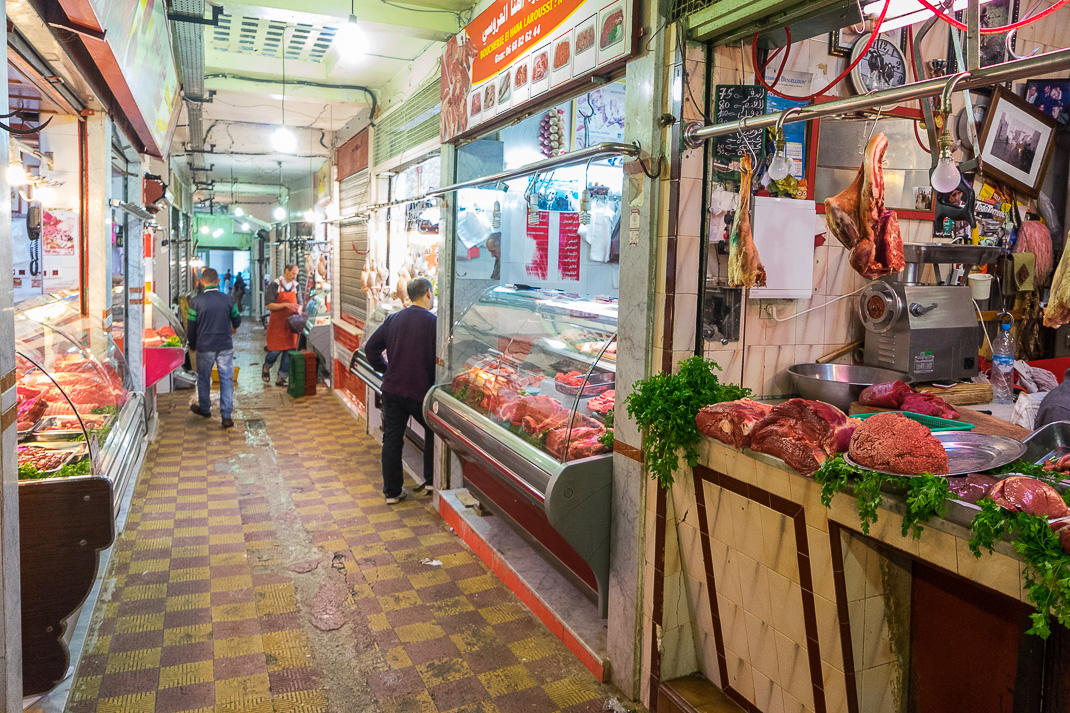 Tangier Indoor Meat Market
