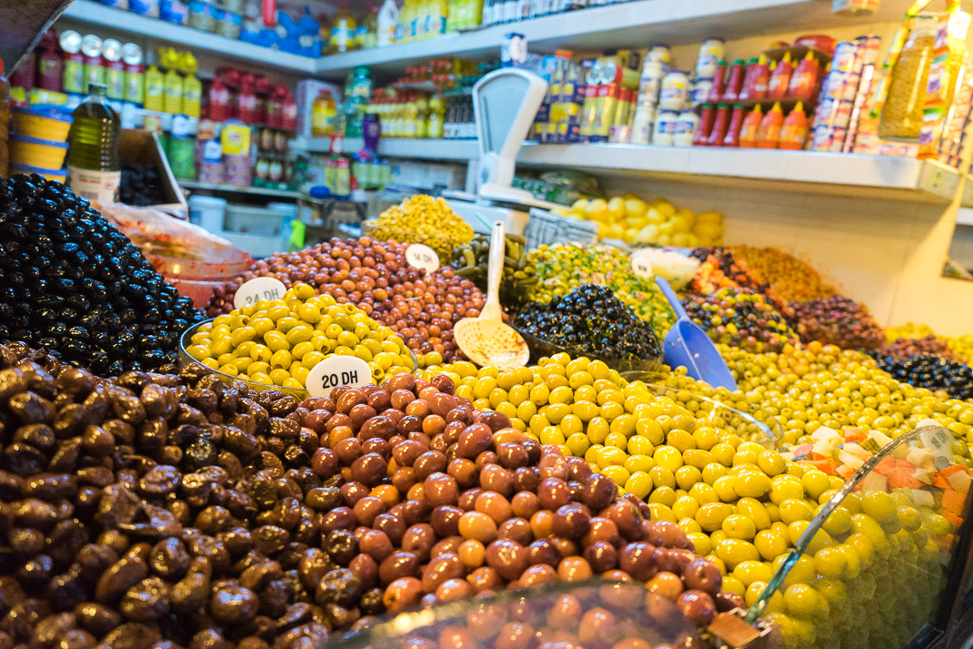 Tangier Indoor Olive Shop