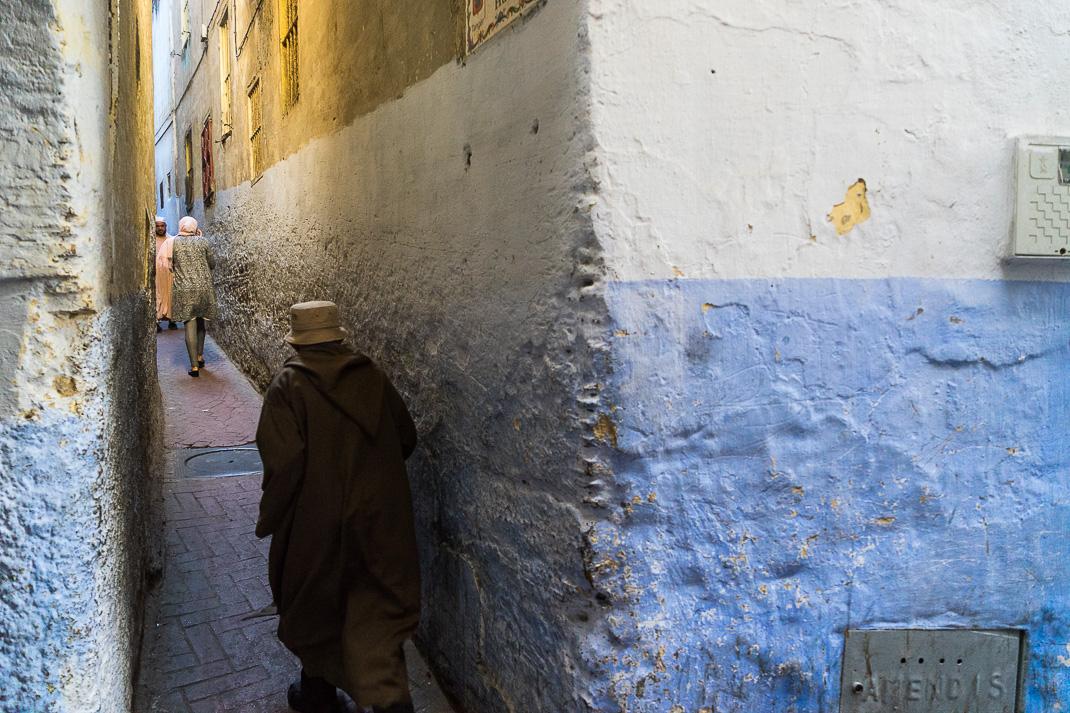 Tangier Medina Narrow Walkway