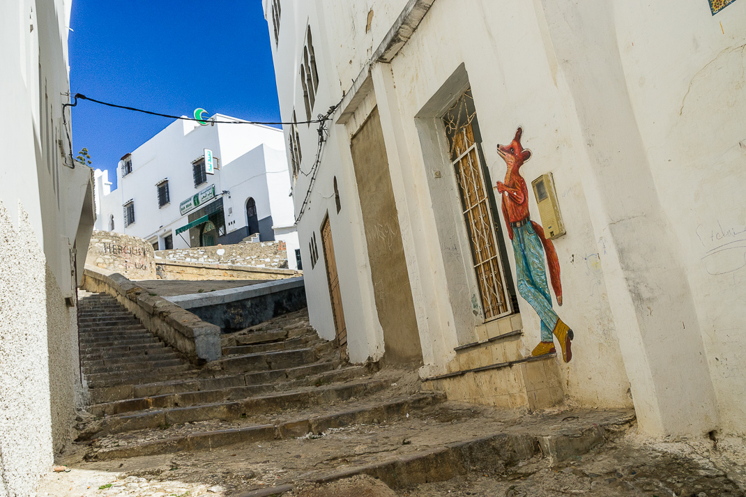 Tangier Medina Old Steps