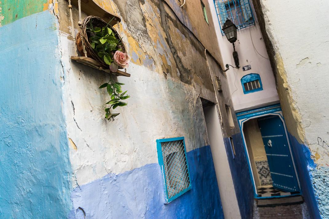 Tangier Medina Rose Corner