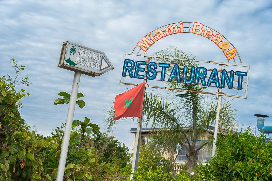 Tangier Miami Beach Sign
