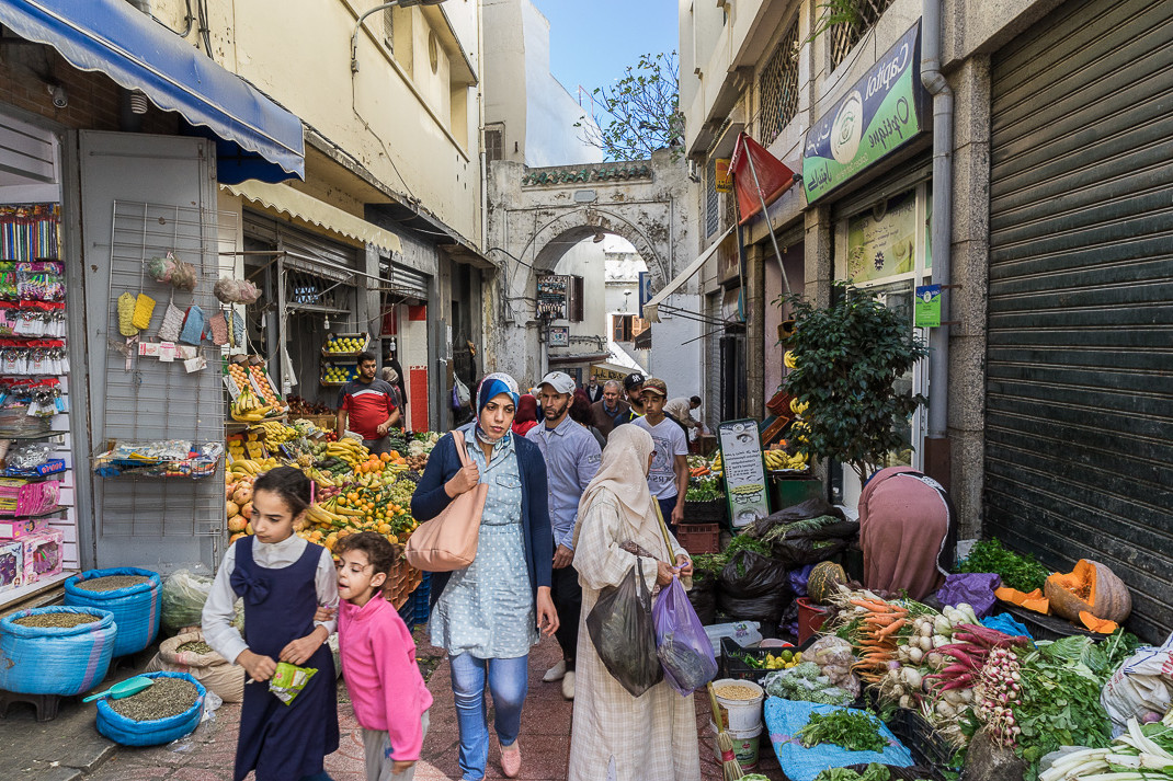Tangier Outdoor Fruit Market