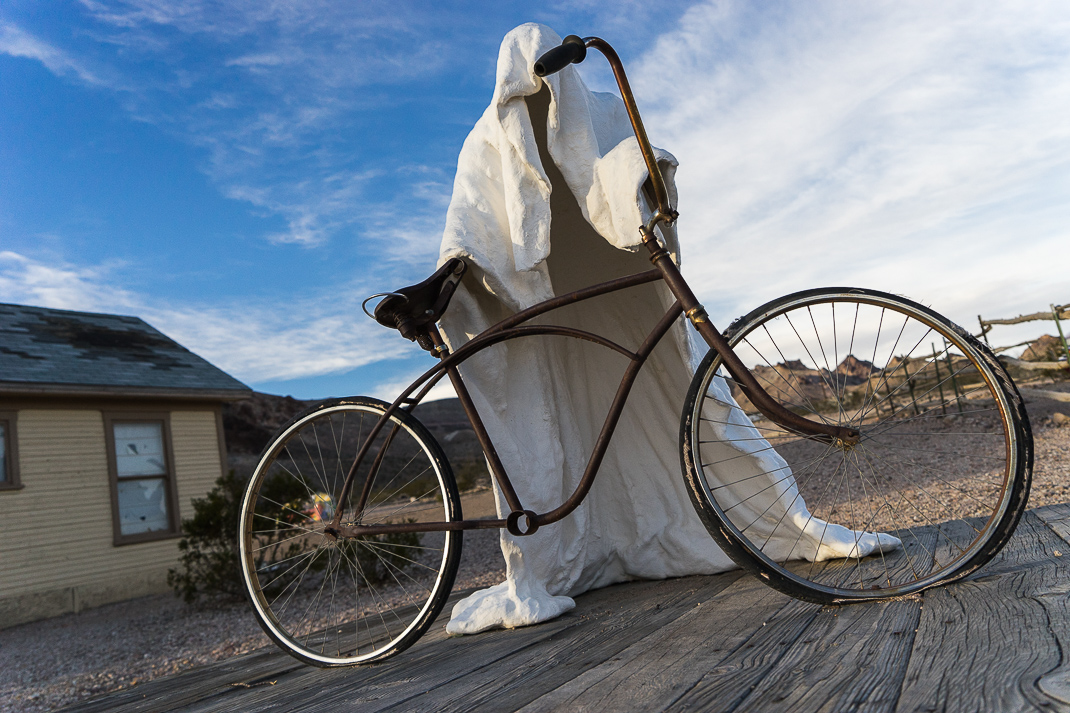 Rhyolite Ghost Town Bike Figure
