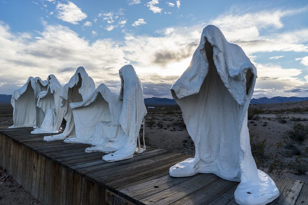 Rhyolite Ghost Town Figures