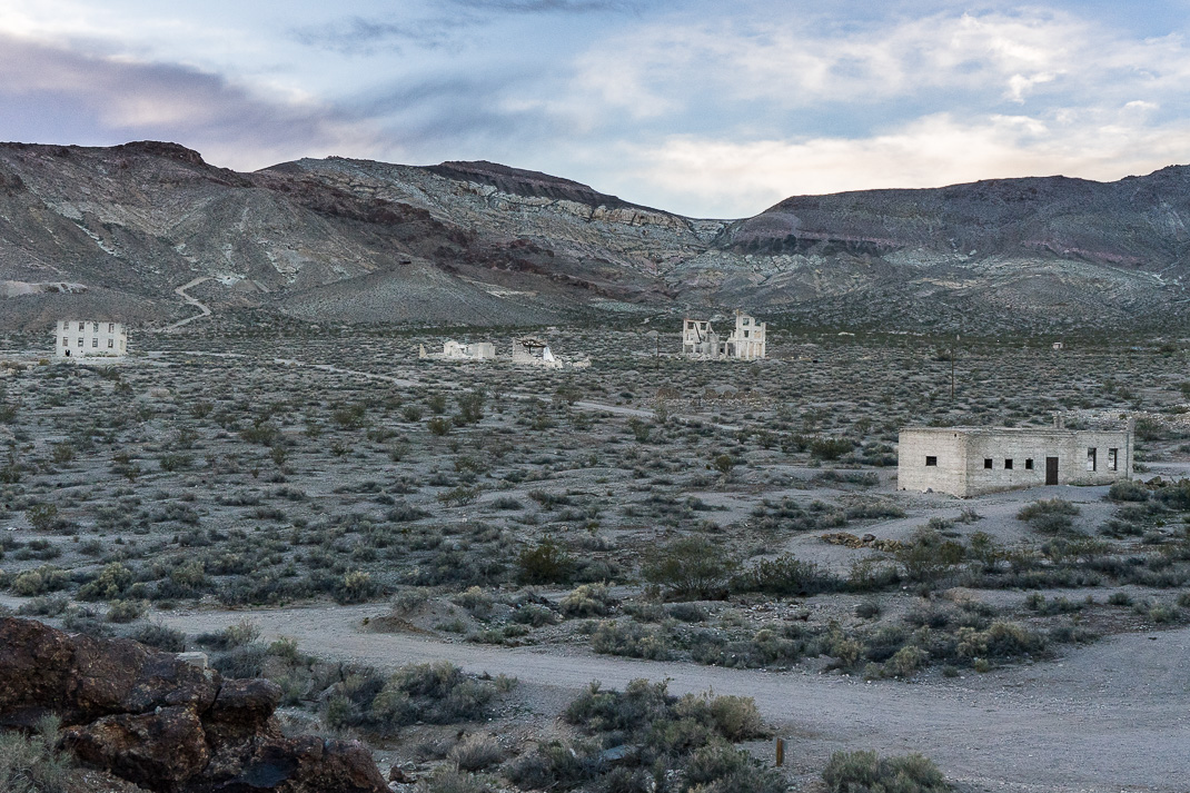 Rhyolite Ghost Town View