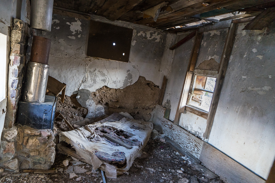 Rhyolite Ghost Town House Interior