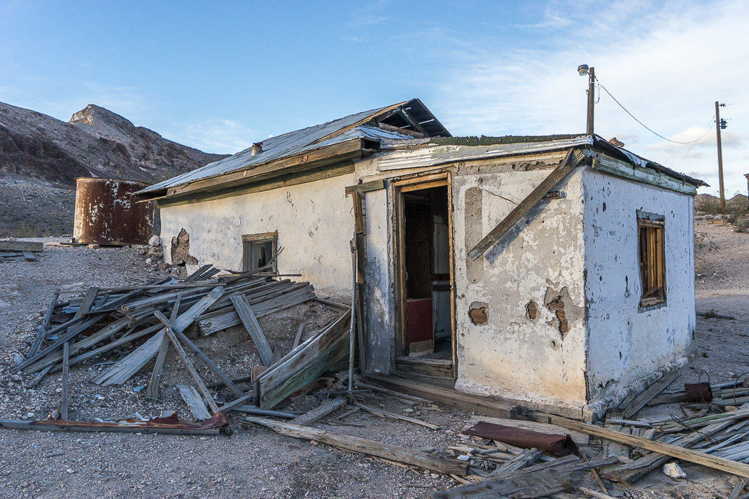 Rhyolite Ghost Town House