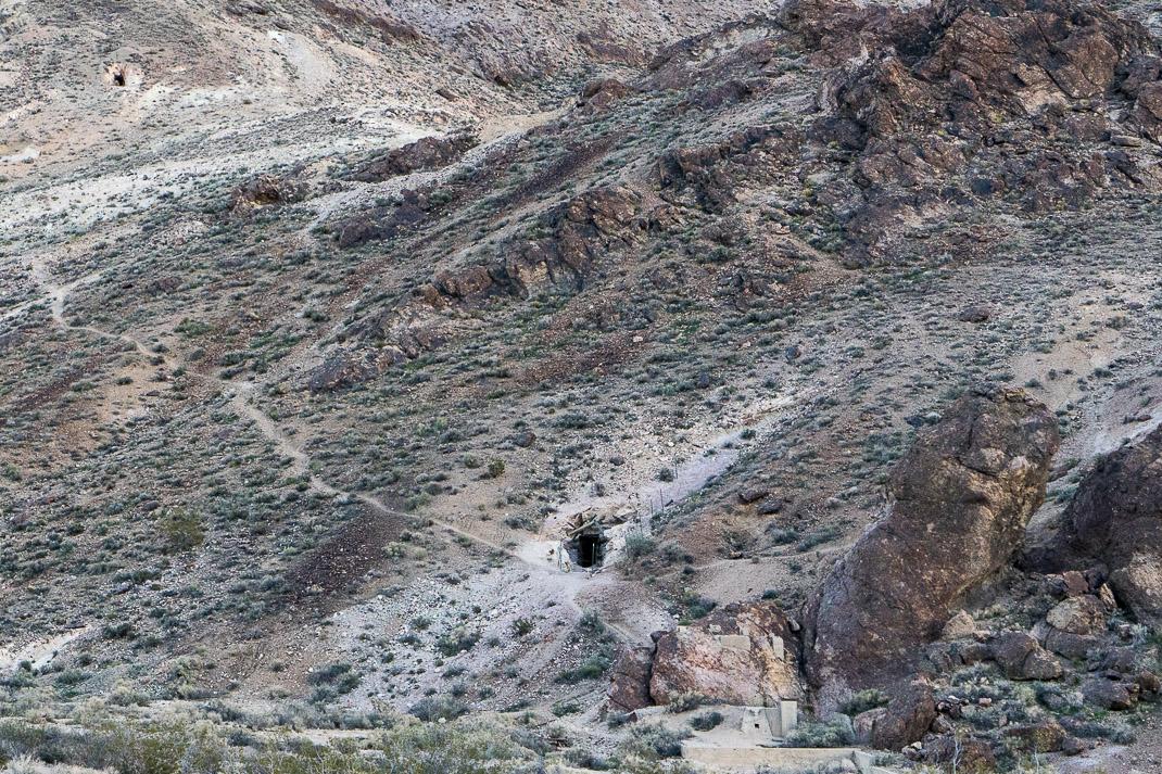 Rhyolite Ghost Town Mines