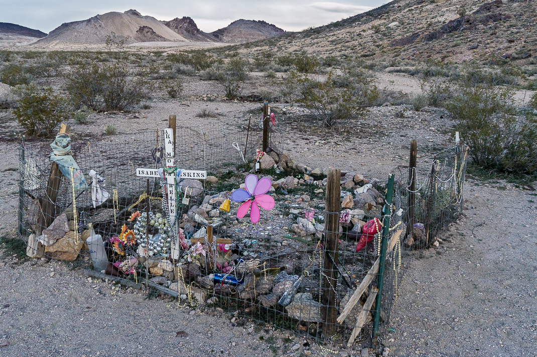 Rhyolite Ghost Town Grave