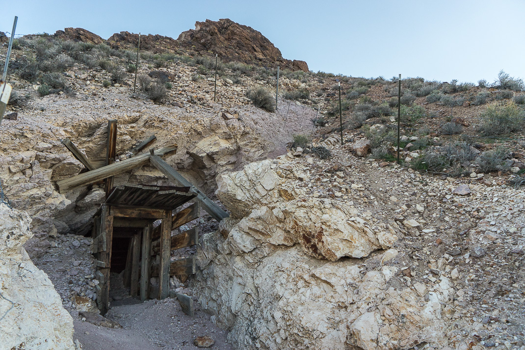 Rhyolite Ghost Town Upper Mine