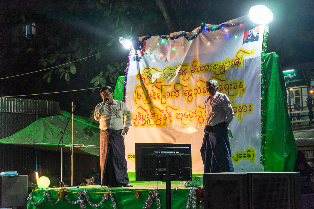 Burmese Independence Day Karaoke