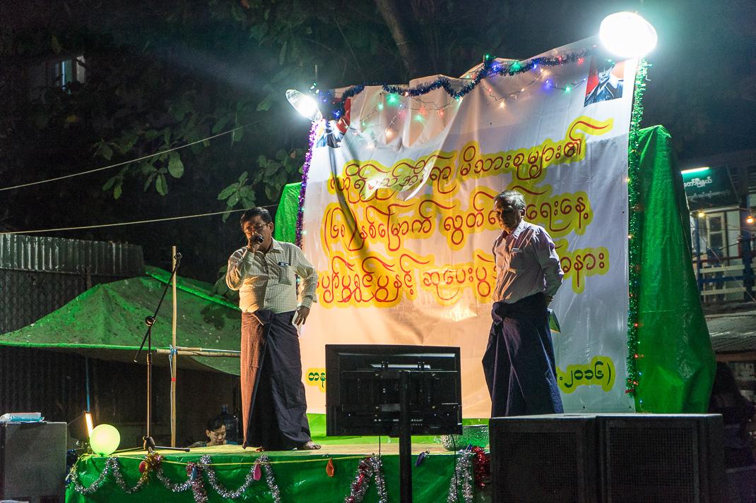 Burmese Independence Day Karaoke