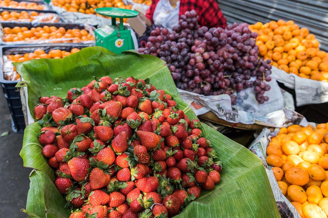Yangon Street Market Fruit