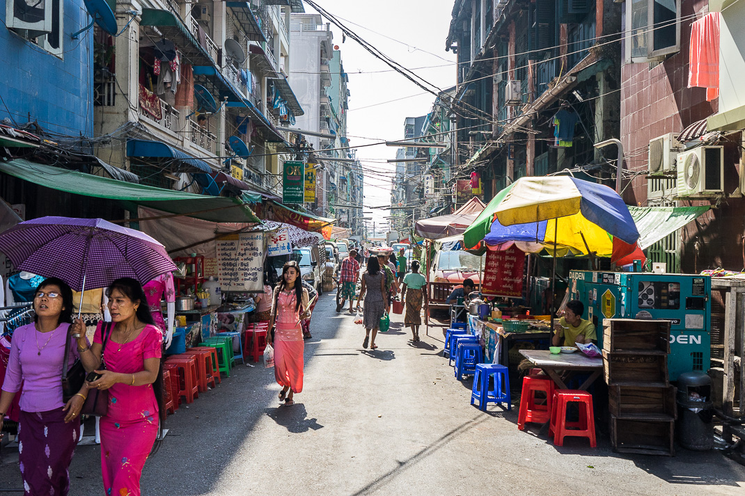 Yangon Street Food Seats