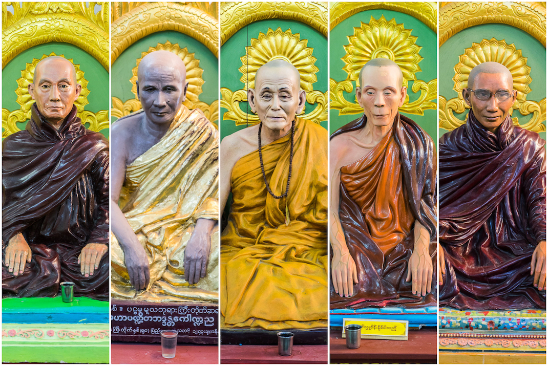 Yangon Temples Chaukhtatgyi Collage