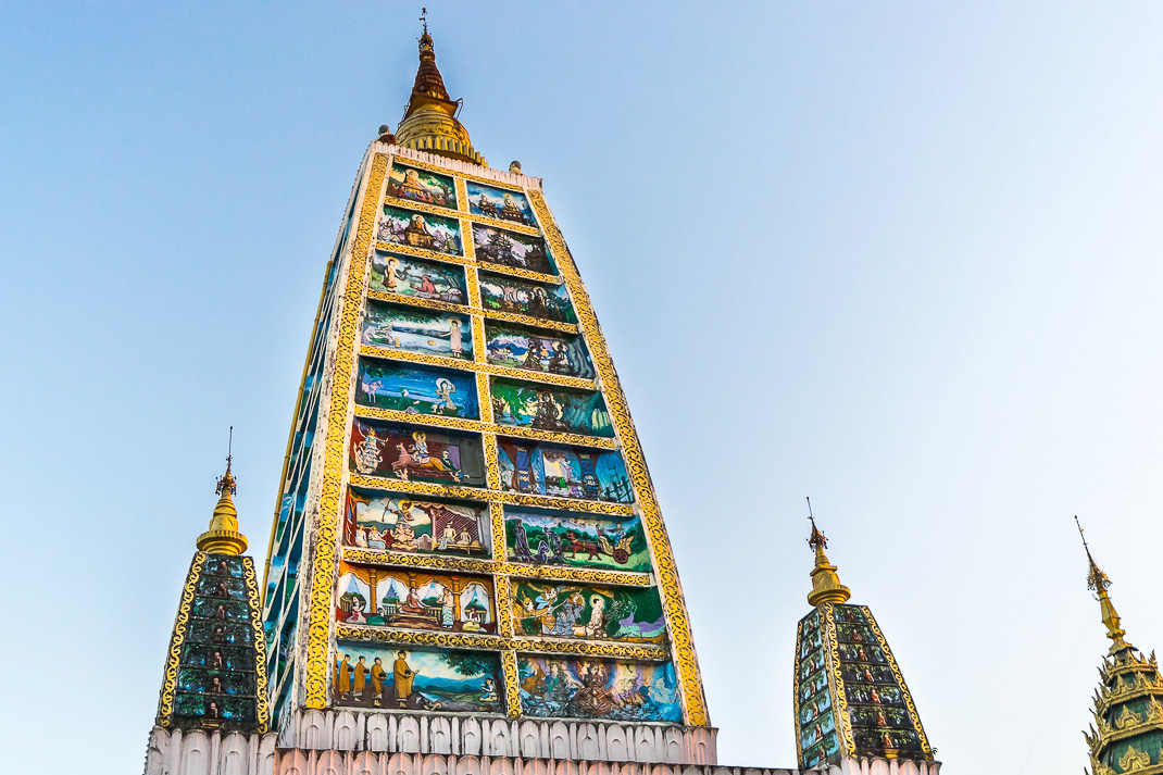 Yangon Temples Shwedagon Tower Pictures