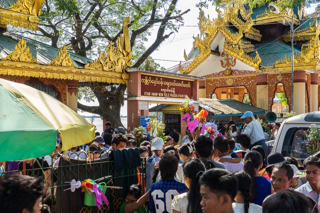 Yangon Temples Yele Entrance