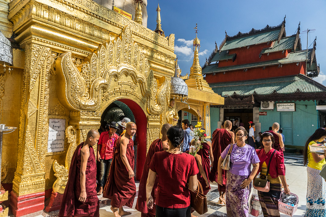 Yangon Temples Yele Monks Pagoda